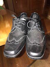 Boys school shoes - size 4