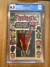Fantastic Four #54 CGC 6.5 Black Panther and Inhumans appearance