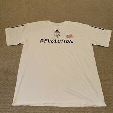 New England Revolution Major League Soccer T Shirt Revs MLS Adidas Mens XL