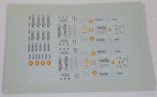 1/43 Ferrari 2007 Formula One decals for Kimi and Massa
