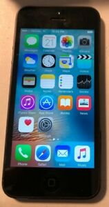 Apple iPhone 5 16GB Black (Verizon) A1429 Fast Ship GSM Excellent Used
