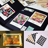 120pcs(5 sheets) DIY Vintage Corner kraft Paper Stickers for Photo Albums Decor