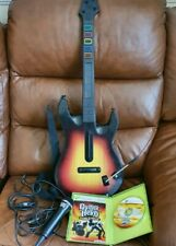 Guitar Hero World Tour Xbox 360 Sunburst, Microphone & World Tour Game Bundle