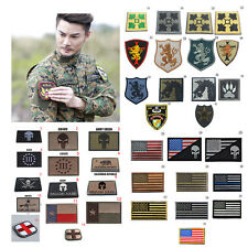 Funny Morale Army Military 3D Embroidered Trim Morale Sew Patches Armband Badge