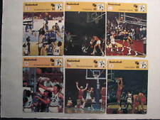 1977 Sportscaster Basketball Card lot of 6