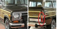 Super Jeep Grand Wagoneer Red & Amber Tail Light Lens Pair Set Rh Lh 1984 -1991