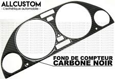 FOND COMPTEUR CARBONE TABLEAU BORD JAUGE VITESSE CADRAN pour BMW E34 SERIE 5 M5