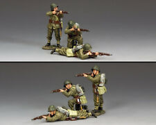 KING & COUNTRY FIELDS OF BATTLE FOB166 POLISH INFANTRY FIGHTING THE INVADERS MIB