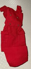 Vintage Barbie 1961 Sheath Sensation #986 Red Sheath Dress Minty Mattel