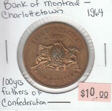 Bank of Montreal - Charlottetown - 1964 Medallion