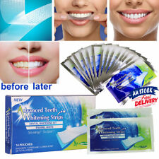 28 White Strip Teeth Whitening Strips Professional Advanced VW Tooth Bleaching