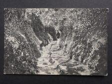 Channel Islands GUERNSEY Water Lane, Moulin Huet c1906 by Valentine's