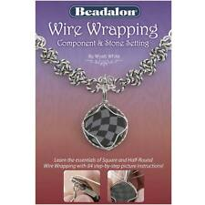 Wire Wrapping Component And Stone Setting Booklet (1 Book)