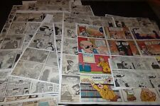 Lot 118 Newspaper Comics Snuffy Smith Beetle Bailey Advertising Comics Henry