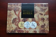 1997 Bank of Korea Official 6 coins set in original Mint packaging Scarce