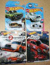 Hot Wheels MAZDA RX-3 Lot Of 4 2018-21 JAPAN HISTORICS 2 Fast & Furious Rewin