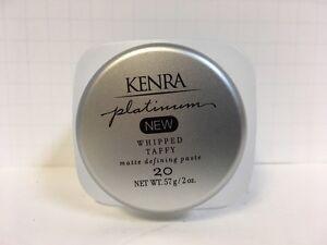 Kenra Platinum Whipped Taffy Matte Defining Paste #20 - 2oz (NEW)