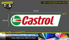 Castrol pegatina sticker decal aufkleber adesivi 3M 50 Series vinyl