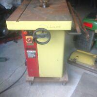 """SCMI  MINI MAX T3 3HP 220V 1 PHASE SLIDING TABLE WOOD SHAPER 3/4"""" SPINDLE"""