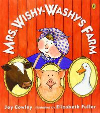 MRS. WISHY-WASHY'S FARM (pb) by Joy Cowley  farm animals in the city NEW