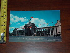 POSTCARD VINTAGE OLD RARE THE PRINCES GATES CANADIAN NATIONAL EXHIBITION TORONTO