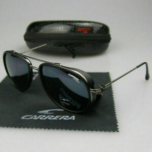 Carrera Men Women Retro Sunglasses Windproof Matte Frame Glasses Vintage Design