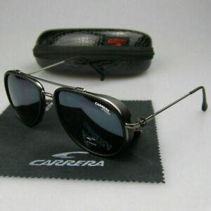Carrera Men Women Retro Sunglasses Windproof Matte Frame Glasses Vintage Design