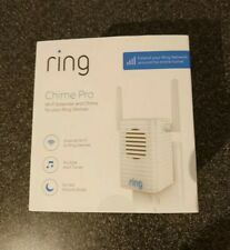 RING Chime Pro Wi-Fi Extender & Indoor Door Chime - BRAND NEW SEALED