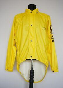 Gore Bike Wear Cycling Yellow Gore-Tex Men's Jacket Size: XL