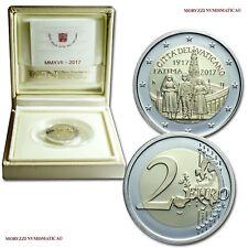 MORUZZI - Vatican 2 EURO commémorative 2017 Belle Epreuve Apparition de Fatima