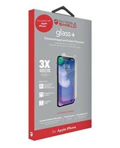 Zagg InvisibleShield Glass+ Screen Protector for iPhone 6 Plus 7 Plus 8 Plus