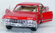 1967 Chevrolet Impala rot Sammlermodell ca. 12,5cm / 1:43 Neuware von KINSMART