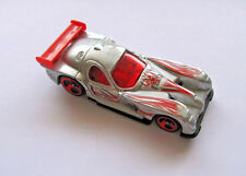 Hot Wheels 1997 Panoz GTR-1 Silver and Red Die Cast Metal Sports Car