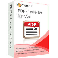 PDF Converter Mac tipard DT. Full VERSION 1 year licence ESD DOWNLOAD
