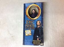 Lord Of The Rings Aragorn Special Edition Collector Series TOY BIZ Action Fi BNT