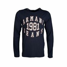 Long Sleeve Graphic ARMANI T-Shirts for Men