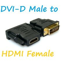DVI-D MALE TO HDMI FEMALE CONVERTER CONNECTOR  ADAPTER