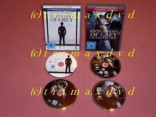 2x DVD Fifty Shades Of Grey - Geheimes Verlangen & Gefährliche Liebe _2-Disc-Ed.