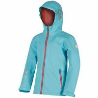 Regatta Feargus Girls Kids Hooded Breathable Waterproof Jacket Coat RRP £50