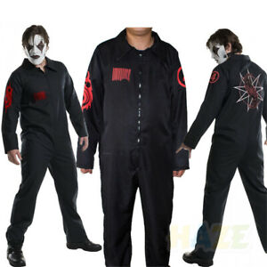 Slipknot Cosplay Costume Loose Jumpsuit Halloween Party Costume Adult New
