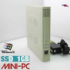 MICRO COMPUTER PC FÜR DOS WINDOWS 98 DVI VGA 1GB SSD RS-232 PENTIUM OLD GAMES