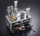 Acrilico Trasparente Trucco Scatola Organizzatore Cosmetico Espositore