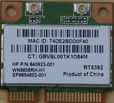 RALINK RT5392 WN6606RH-H1 802.11b/g/n Wireless WiFi Half Mini PCIe Laptop Card