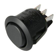 _ Wippschalter rund 2x EIN-AUS-EIN 250V 10A mini Wippen-Schalter Ø23mm 230V