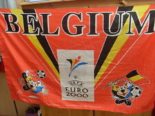 drapeau diable rouge football euro 2000 tres rare collection