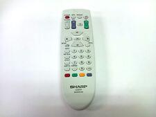 Genuine Sharp Aquos LCD TV Remote Control RRMCGA364WJSA