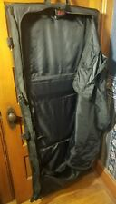TUMI ALPHA TRI-FOLD CARRY-ON GARMENT TRAVEL BAG BLACK $495.00 22133DH GOOD COND.
