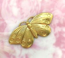 BRASS Moth Butterfly Cabochon Setting Stamping Jewelry Finding (FA-6035)