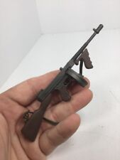 1/6 THOMPSON SUB MACHINE GUN GANGSTER USMC BRITISH DRUM WW2 DRAGON BBI DID 21st