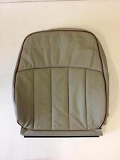 Classic Mini Seat Cover Squab - Cumulus/Red Leather - HBA105290RLL